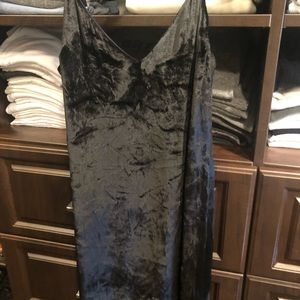Alice And Olivia Crushed Velvet Dress